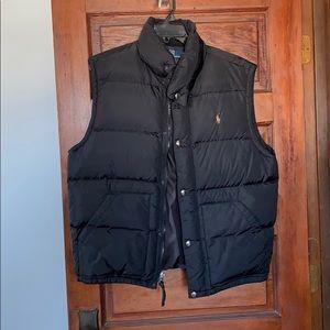Men's Polo by Ralph Lauren Black Bubble Vest
